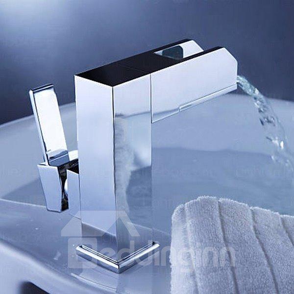 High Quality Fantastic LED Color Changing Bathroom Sink Faucet