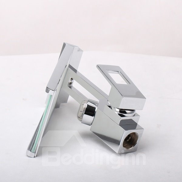 Beautiful High Quality LED Color Changing Bathroom Sink Faucet