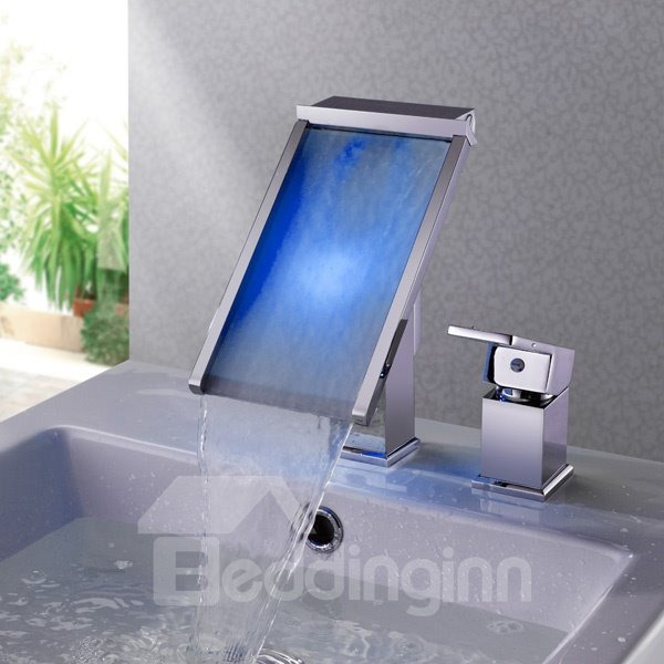 New Arrival Amazing LED Color Changing Bathroom Sink Faucet