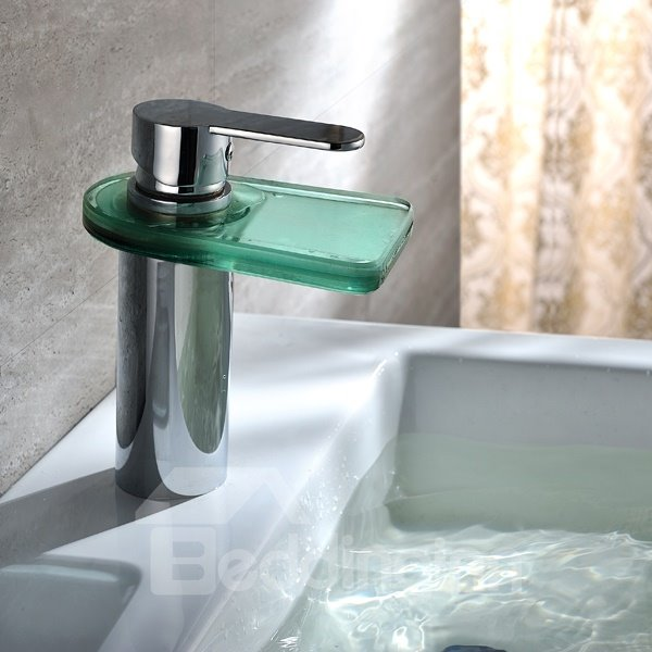 Cool Hot Selling LED Color Changing Bathroon Sink Faucet