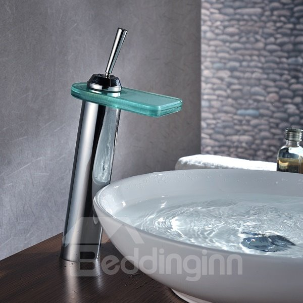 New Arrival Single Handle LED Color Changing Bathroom Sink Faucet