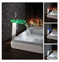 High Quality Fantastic LED Color Changing by Temperature Bathroom Sink Faucet