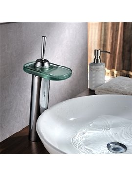 Modern Popular LED Color Changing Bathroom Sink Faucet