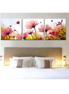 New Arrival Beautiful Flowers Under Sunshine Film Wall Art Prints