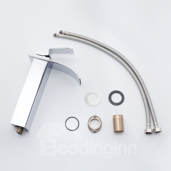 New Arrival Top Selling Gorgeous Waterfall Bathroom Sink Faucet