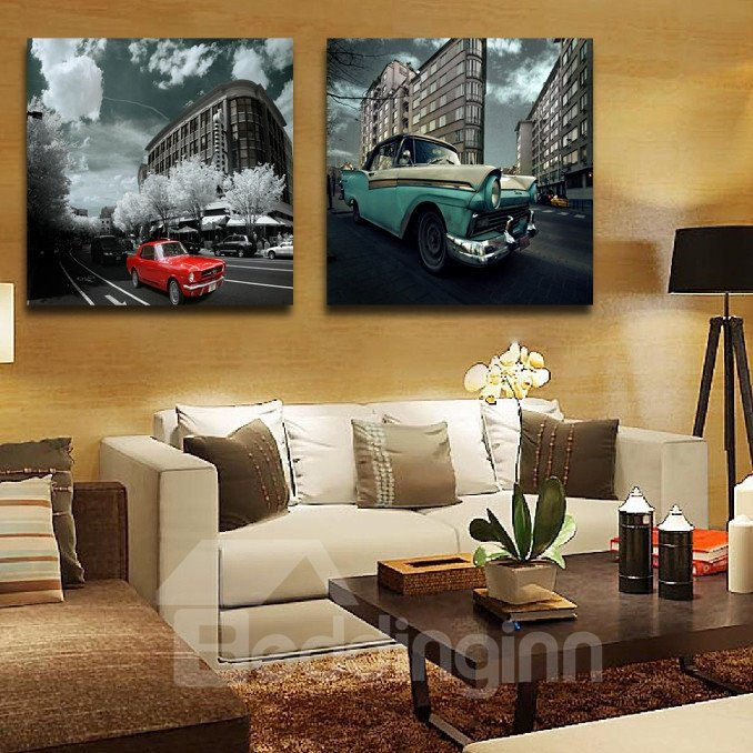 New Arrival Cars Driving On The Road Film Wall Art Prints