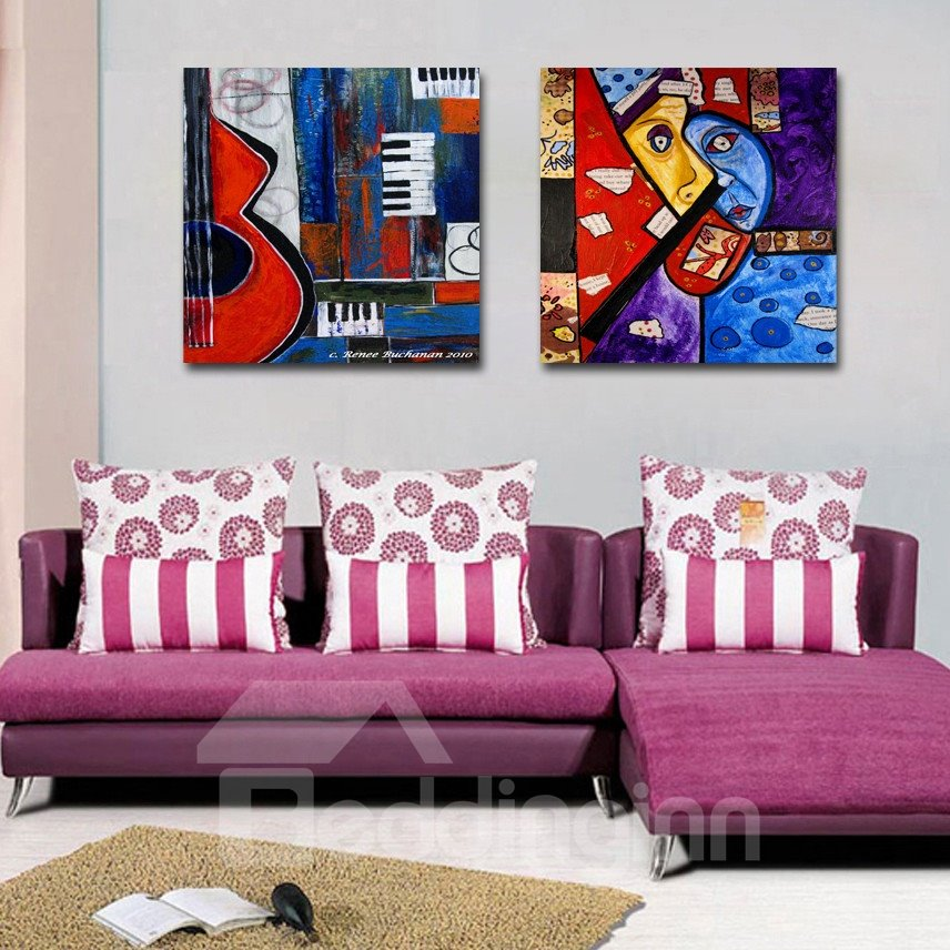 New Arrival Abstract Oil Painting Film Wall Art Prints
