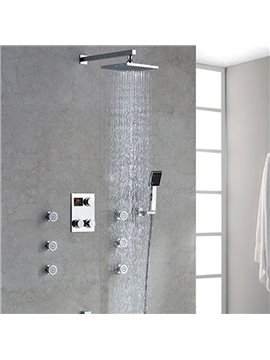Hot Selling High Quality Thermostatic Digital Display Shower Head Faucet