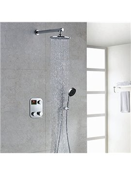 New Arrival High Quality Amazing Thermostatic Digital Display Shower Head Faucet