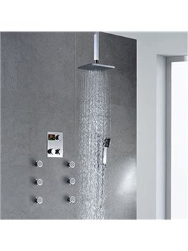 Hot Selling High Quality GlamorousThermostatic Digital Display Shower Head Faucet