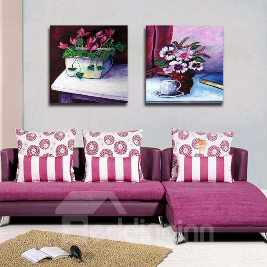 New Arrival Blooming Flowers In The Flowerpot Film Wall Art Prints