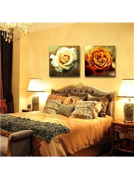 New Arrival Delicate Blooming Roses Film Wall Art Prints