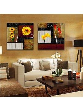New Arrival Sunflowers Toward Sunshine Film Wall Art Prints