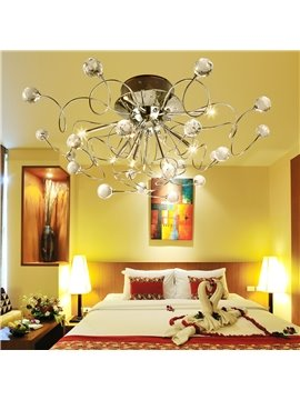 Modern Gorgeous Crystal with 11 Lights Chandelier