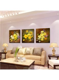New Arrival Fragrant Yellow Flowers Blossom Film Wall Art Prints