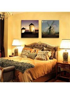 New Arrival Windmill Under Sushine Film Wall Art Prints