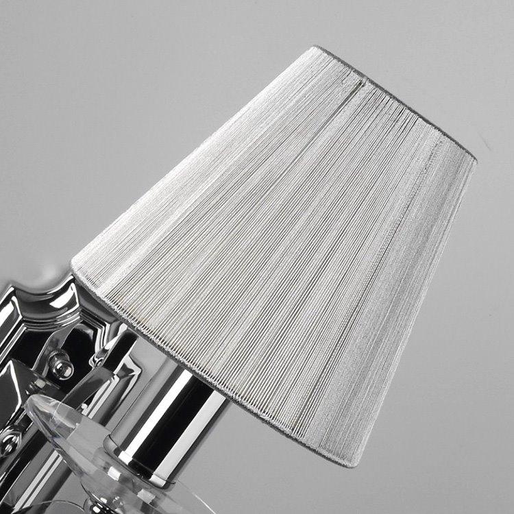 Elegant Simple Style Crystal Drops Decorative Wall Light