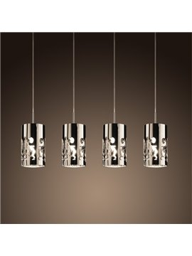 Decorative Stunning Steel 4 Lights Decorative Pendant Light
