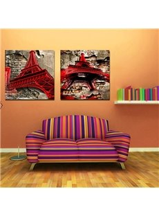 New Arrival Eiffel Tower Film Wall Art Prints
