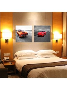 New Arrival Modern Red Cars Film Wall Art Prints