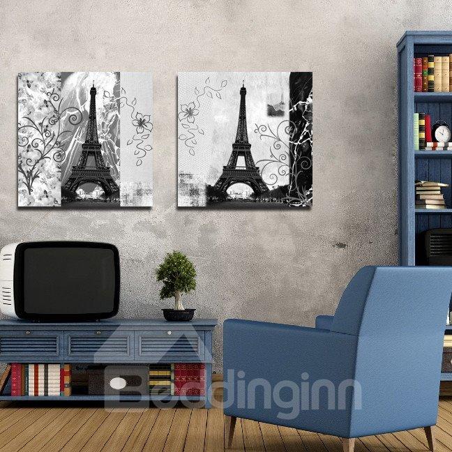 New Arrival Grand Eiffel Tower Film Wall Art Prints