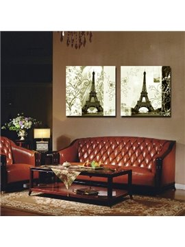 New Arrival Eiffel Tower Toward Sunshine Film Wall Art Prints