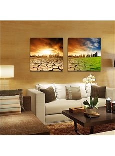 New Arrival Cracking And Parching Land Film Art Wall Prints