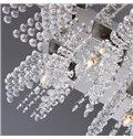 Enjoyable Metal Crystal 5 Lights Flush Mount