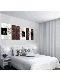 New Arrival Brown Curly Leaves Canvas Wall Prints