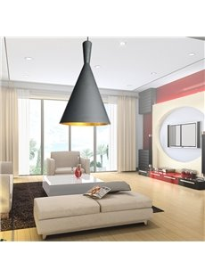 Modern Aluminum Wine Glass 1 Electroplated Finish Pendant Light