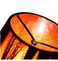 Stunning Modern Metal Crystal Fabric Shade 1 Light Wall Light