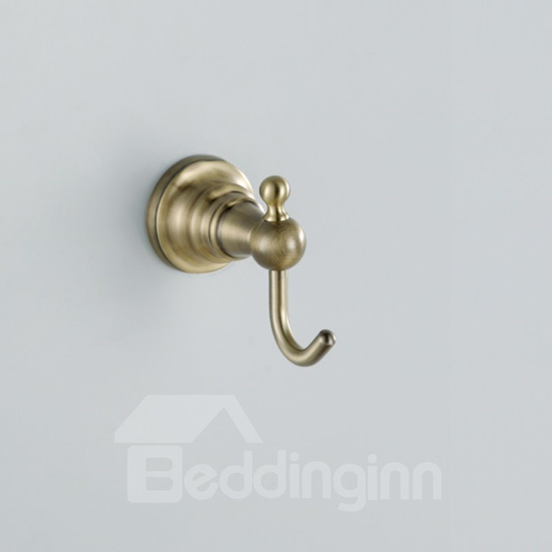 Antique Bronze Wall Mount Single Clothes Hook