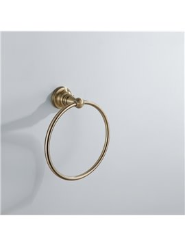 Antique Bronze Round Wall Mount Towel Ring