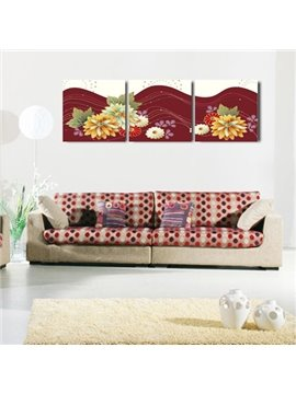 New Arrival Fragrant Colorful Flowers Canvas Wall Prints