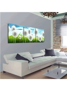 New Arrival Dandelion on Grassland Canvas Wall Prints