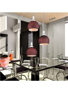 Fantastic Metal Glass Shade 3 Lights Flush Mount