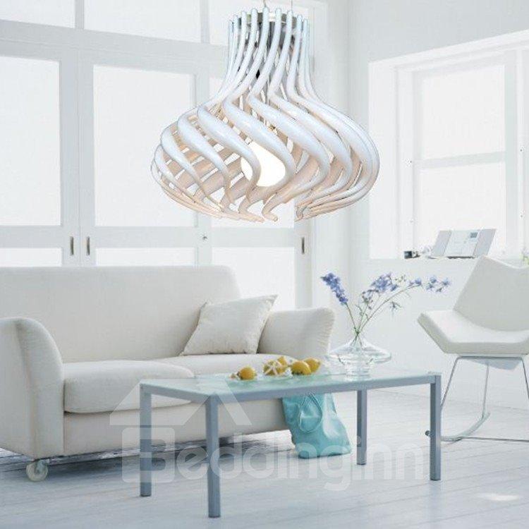 Electroplated Finish Amazing Metal Acrylic Shade 1 Light Pendant