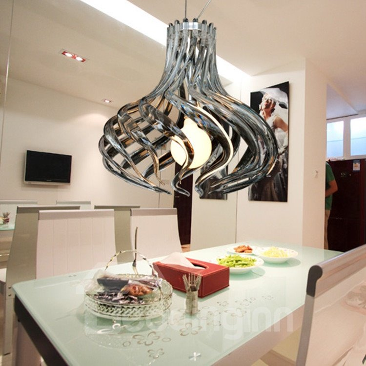 Comtemporary Tempting Metal Acrylic Shade 1 Lights Pendant