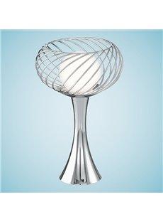 Amazing Style Net Metal Glass Shade 1 Light Lamp