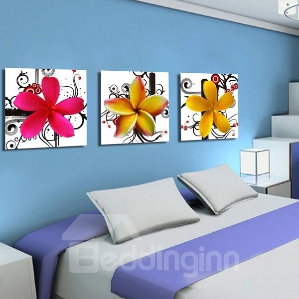 New Arrival Fragrant and Colorful Petal Canvas Wall Prints