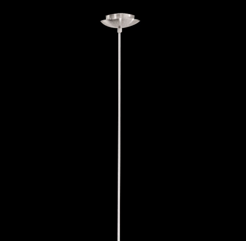 Gorgeous Metal Glass Shade 1 Light Pendant