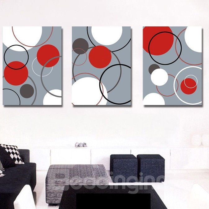 New Arrival Distinctive Geometric Figure Canvas Wall Prints