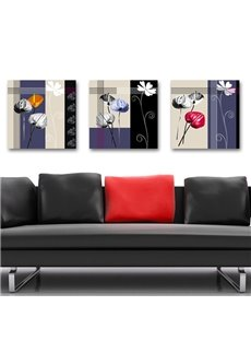 New Arrival Different Beautiful Elegant Flowers Blossom Canvas Wall Prints