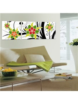 New Arrival Gorgeous and Colorful Flowers Blossom Canvas Wall Prints
