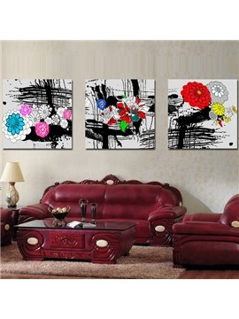 New Arrival Beautiful and Blooming Flowers Canvas Wall Prints
