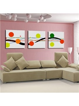 New Arrival Stunning Colorful Geometric Figure Canvas Wall Prints