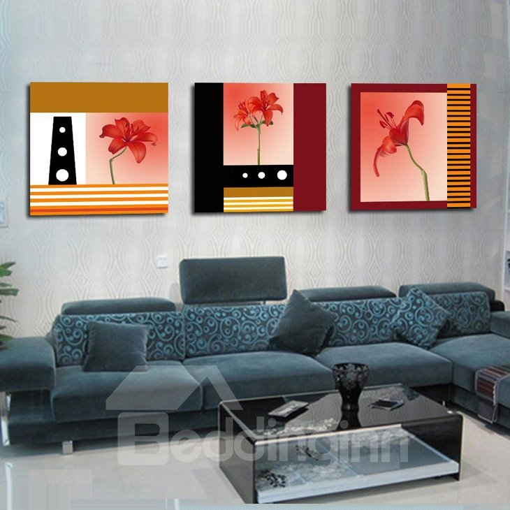 New Arrival Fancy and Delicate Flowers Blossom Canvas Wall Prints