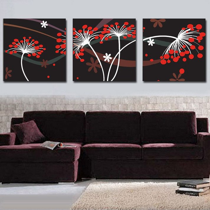 New Arrival Special and Fancy Geometric Figure Canvas Wall Prints