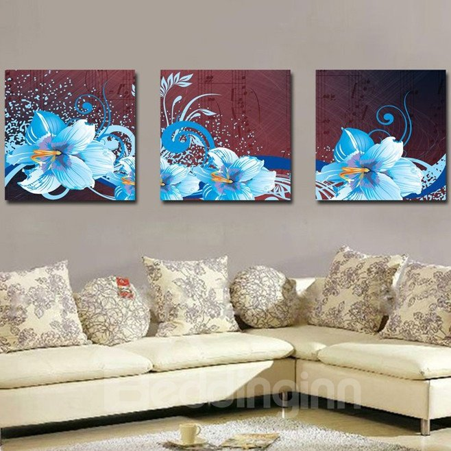New Arrival Blooming and Fancy Flowers Canvas Wall Prints