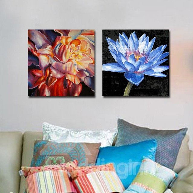 New Arrival Fragrant and Fancy Flowers Canvas Wall Prints